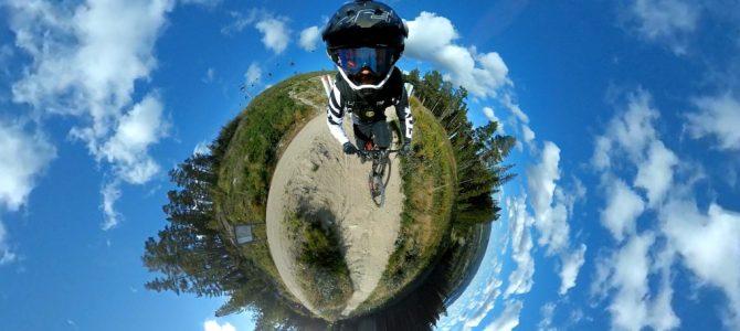 Nytt perspektiv på downhillcykling i Järvsö