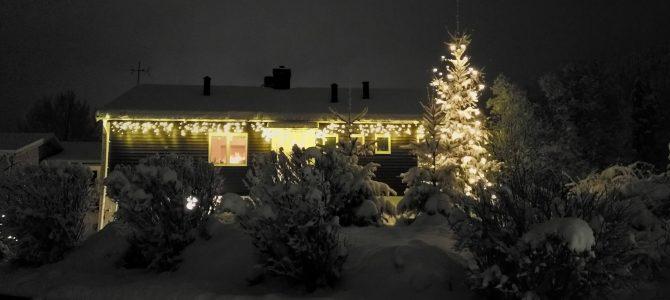 Jullov, Snöfamiljen & Gästspel i Stockholm
