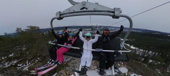 Vintersäsongen är äntligen igång i Järvsö