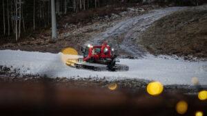 Snöbrist i Järvsöbacken